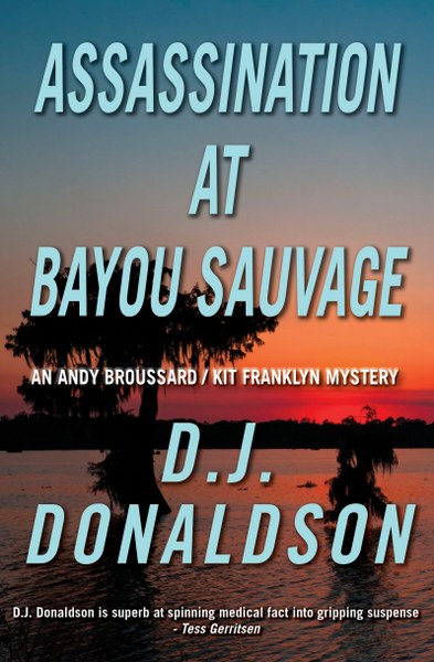 Assassination at Bayou Sauvage2 cover_393x600